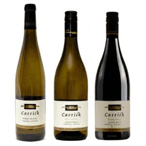 Carrick Estate Organic Trio Wines