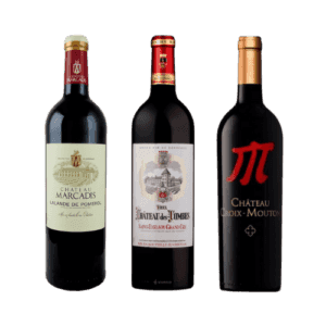 New Zealand Bordeaux wines bottle of 3