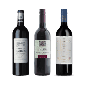 New Zealand Bordeaux wines 3 bottles red