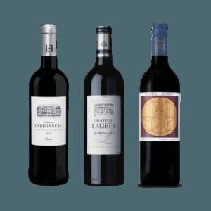 New Zealand Bordeaux wine 3 bottles red