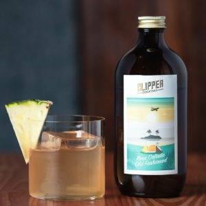 Clipper cocktail pina colada old fashioned