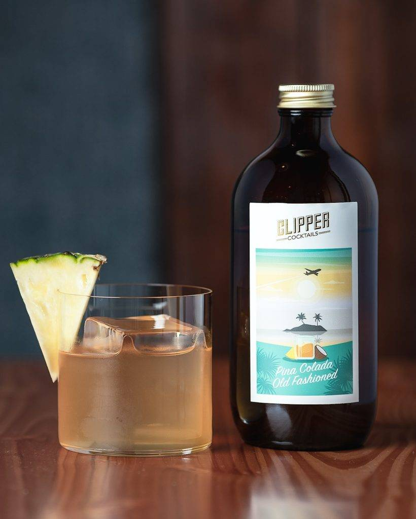Clipper's Pina Colada Old Fashioned 500ml